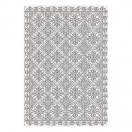 Moderne Amerikaanse placemat in pvc en polyester met patroon, 6 stuks - Costa