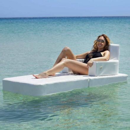 Trona Basic zwevende leunstoel voor modern zwembad gemaakt in Italië