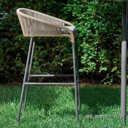 Varaschin Cricket kruk moderne tuin aluminium, 2 stuks