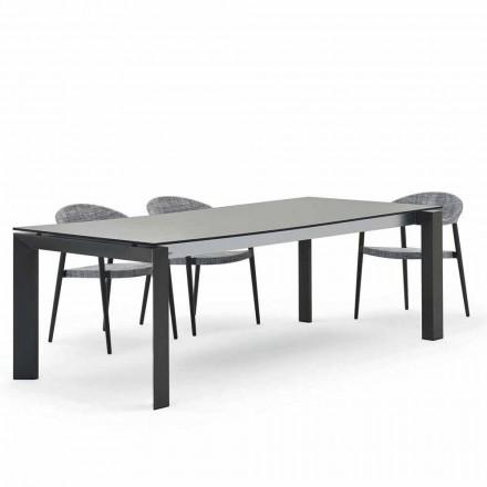 Varaschin Dolmen tafel modern design van het exterieur 240x100 cm