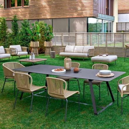 Varaschin Kolonaki Tabel moderne tuin in verschillende maten
