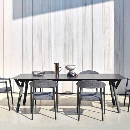 Varaschin Link tafel H 65 cm tuin uit te breiden tot 350 cm