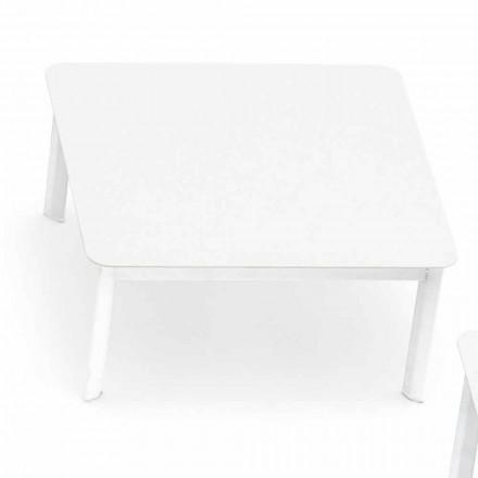 Varaschin Design-salontafel voor buiten in geverfd aluminium