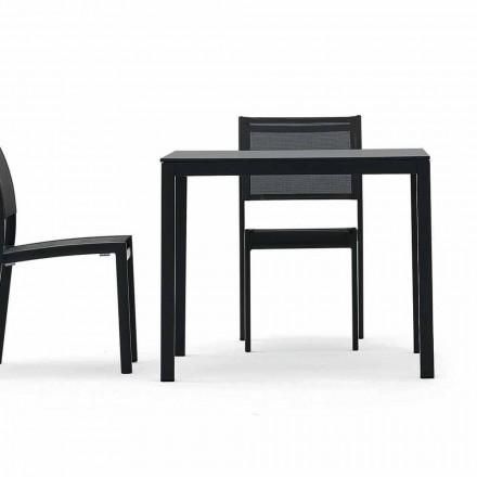 Varaschin Victor tafel voor binnen en tuin dineren, modern design