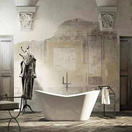 Modern design vrijstaand bad geproduceerd 100% in Ragusa, Italië