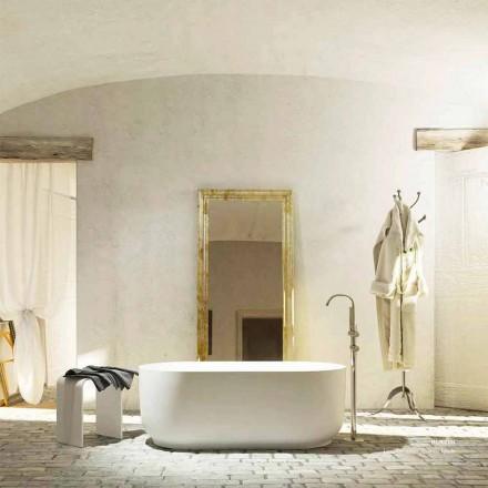 Modern design vrijstaand bad geproduceerd 100% in Italië Zollino