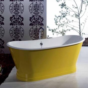 Bath gietijzeren vrijstaande modern design Betty kleurrijke