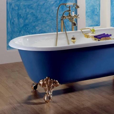 Badkuip Vrijstaande gietijzer met Diane voeten