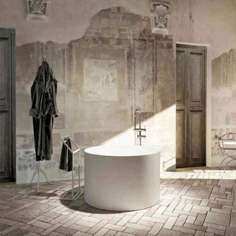 Ronde vrijstaande designbadkuip gemaakt in Cremona, Italië