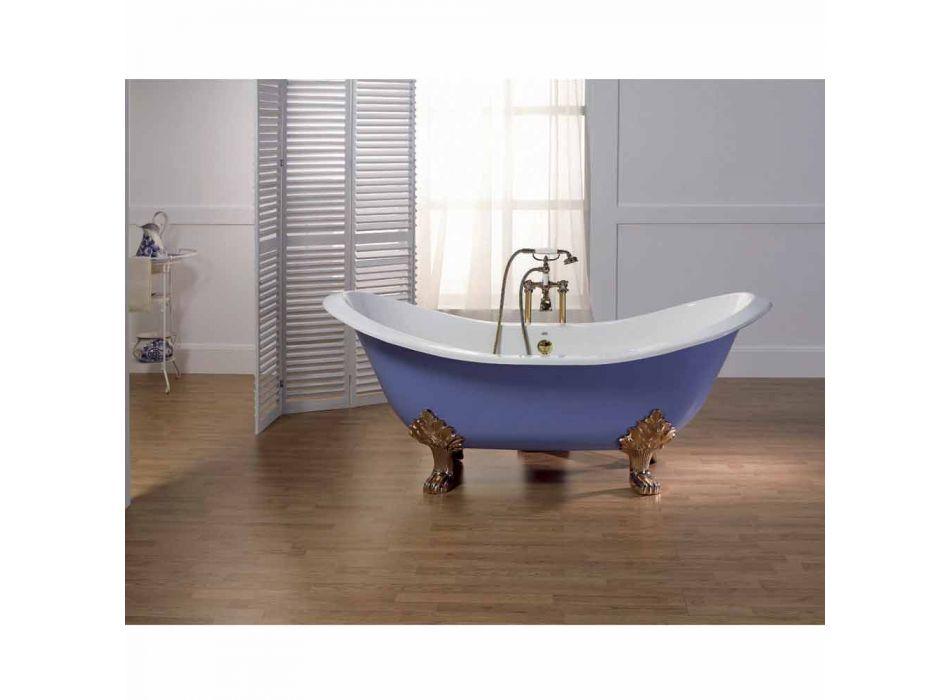 Bath geglazuurd en geschilderd gietijzer benen Lane