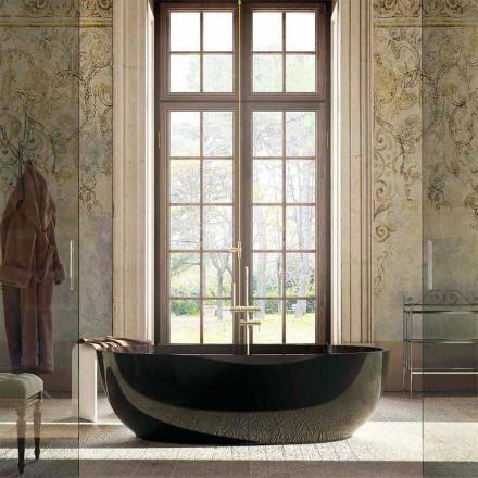 Modern design vrijstaand bad Fabriano, 100% gemaakt in Italië
