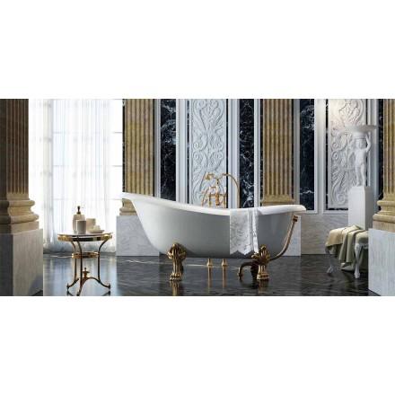 Vrijstaand klassiek design bad gemaakt 100% in Italië, Fregona