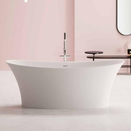 Design vrijstaande badkuip, Design in Solid Surface - Look