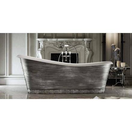 Modern design vrijstaand bad van hars gemaakt in Furtei, Italië