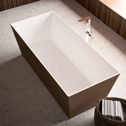 Vrijstaande badkuip, externe bicolor glanzend of mat - Filo