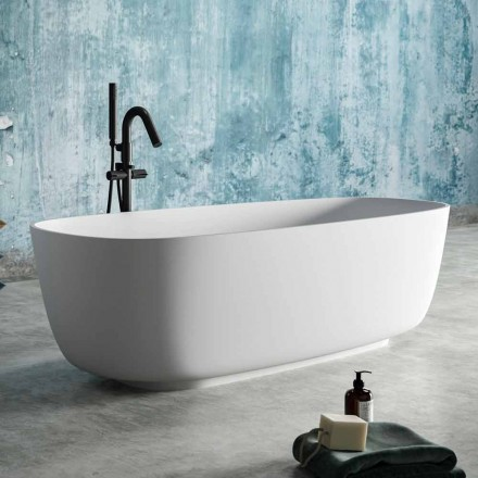 Modern design vrijstaande badkuip in massief oppervlak - Canos