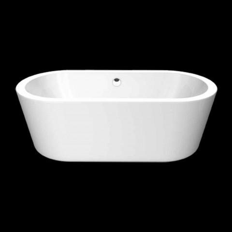 Bath wit acryl ontwerp vrijstaande Nicole Klein 1675x777 mm