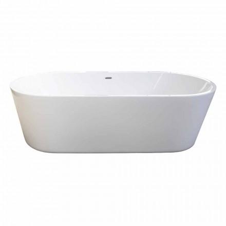 Moderne witte vrijstaande bad ontwerpen van 1785x840mm Nicole 2