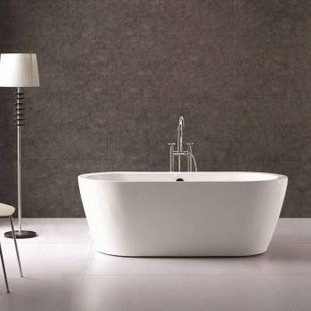Bath ontwerp in wit acryl vrijstaande Nicole 1775x805 mm