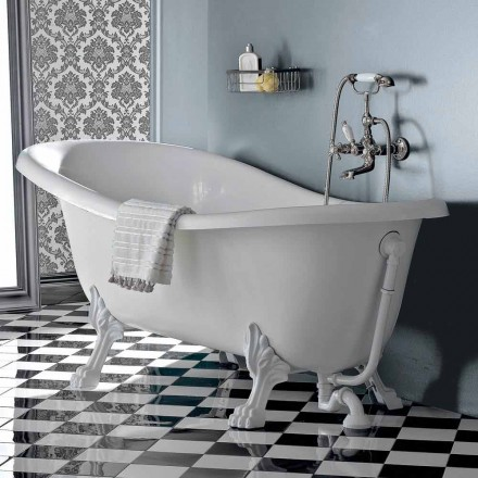 Vrijstaand bad in vintage stijl acryl, gemaakt in Italië - Tabea
