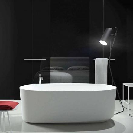 Vrijstaand bad met monobloc-ontwerp geproduceerd in Dongo, Italië