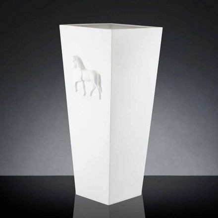 Vaas van modern design cube 100% Made in Italy Cody