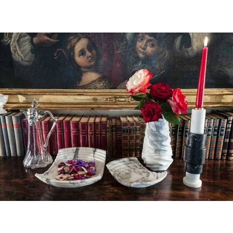 Arabesque marmeren design decoratieve vaas gemaakt in Italië - Brock