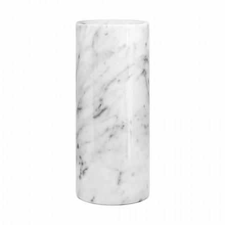 Witte Carrara marmeren decoratieve vaas gemaakt in Italië Design - Nevea