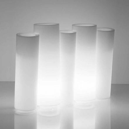 Heldere decoratieve vaas buiten / binnen Slide Bamboo made in Italy