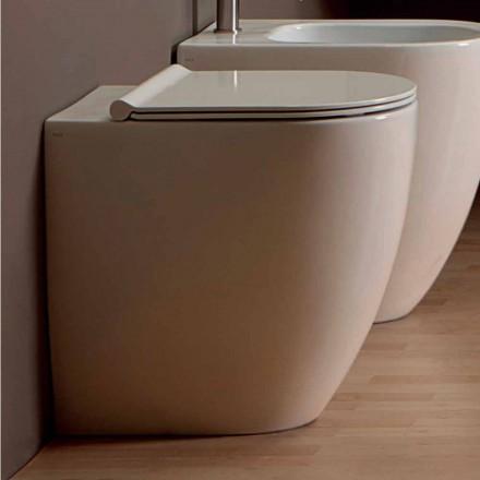Vaas WC in wit keramiek modern design Shine Plein H50 Rimless