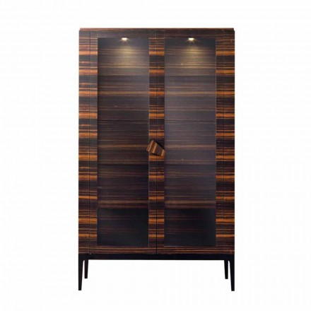 Grilli Zarafa massief houten kast met 2 deuren made in Italy of design
