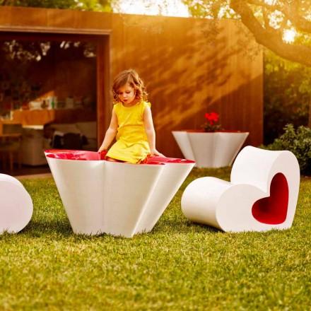 Vondom Agatha outdoor design plantenbak van gekleurd polyethyleen