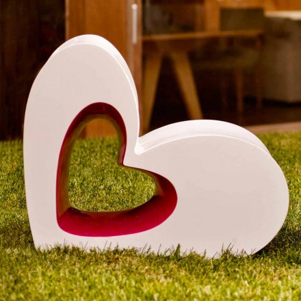 Vondom Agatha moderne buitenzetel in gekleurd polyethyleen