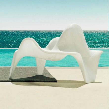 Vondom F3 polyethyleen tuinfauteuil met modern design
