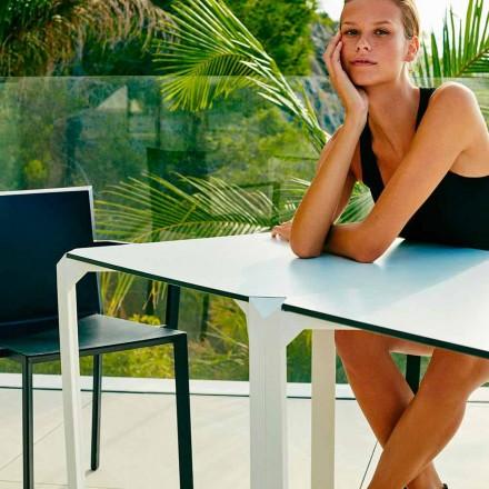Vierkante vierkante tuintafel Vondom, modern design