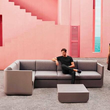 Vondom Ulm samenstelling taupe design tuin lounge