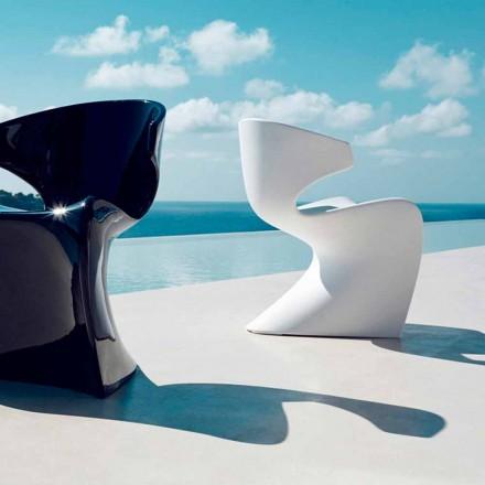 Vondom Wing design tuinstoel in polyethyleen L50xD56xH74 cm