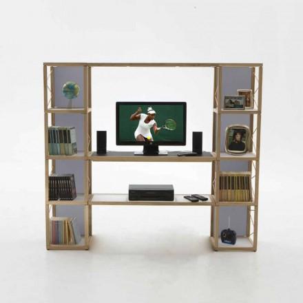Modern Boekenkast Zia Babel I Castelli 5