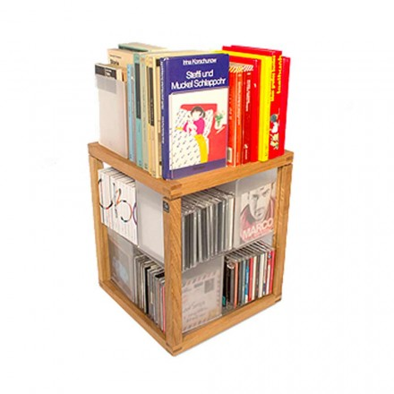 Modern Boekenkast Zia babel De Trottole CD Holder
